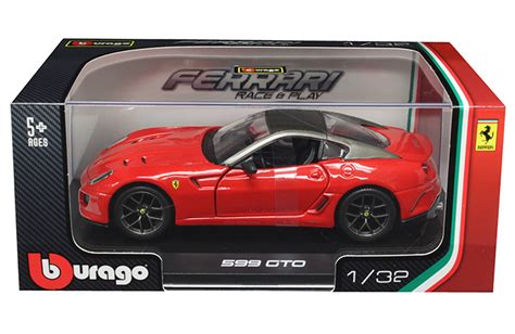 B Burago1 43 Laferrari Race Play Color New In bburago 1 32 w b 599 gto race play mj toys inc