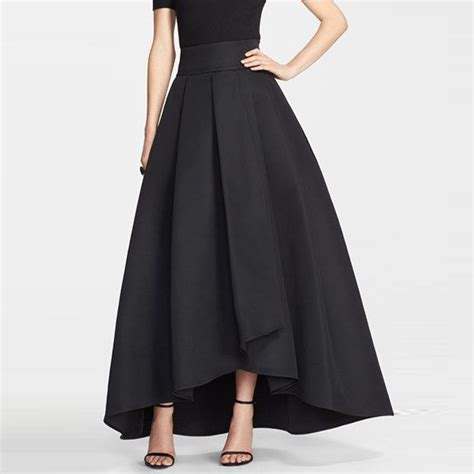 2016 high low skirts for navy blue