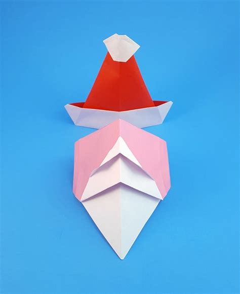 Santa Hat Origami - santa hat origami 28 images origami hats tag hats