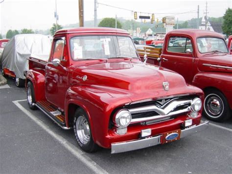55 Ford Truck Quot 55 Ford Truck This Truck Things Would Get A