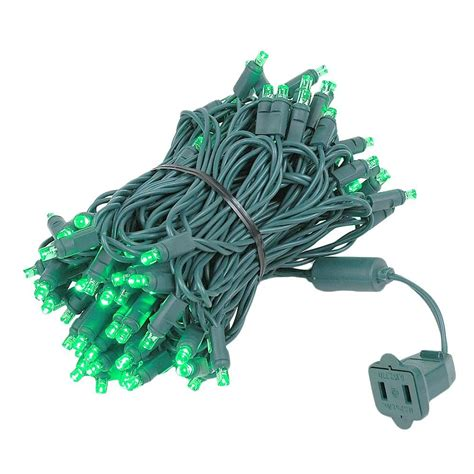 wide angle led christmas lights review wide angle green 100 led christmas lights sets