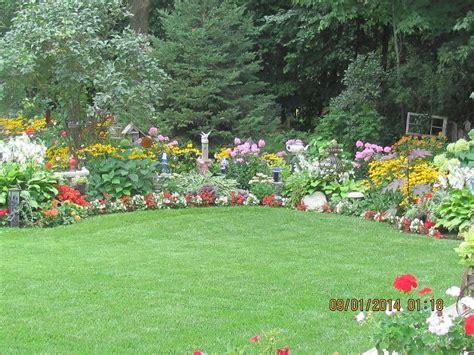 flowers for backyard hometalk gorgeous backyard garden in full bloom