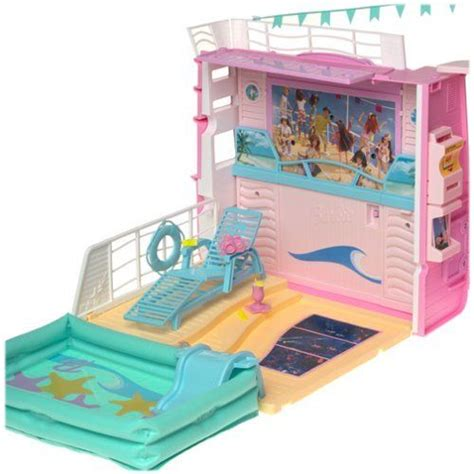 barbie boat house barbie cruise ship barbie doll house boat party cruise