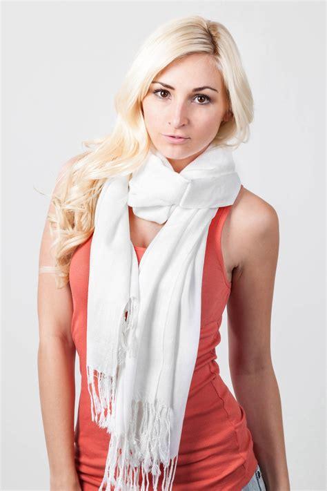 white pashmina scarf pashmina scarves scarves