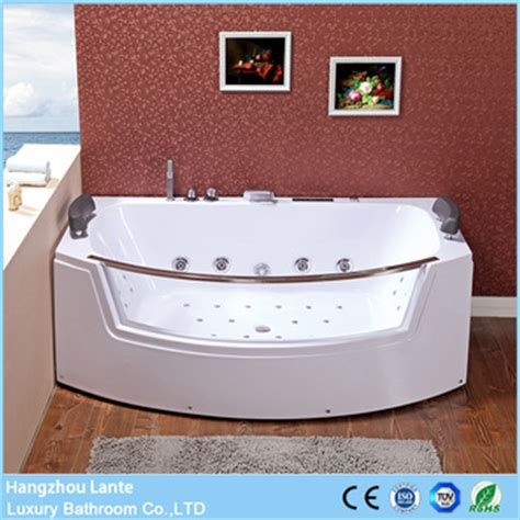 factory direct sale 2 person jetted clear glass bathtubs