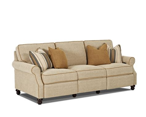 klaussner reclining sofa trisha yearwood home collection by klaussner tifton