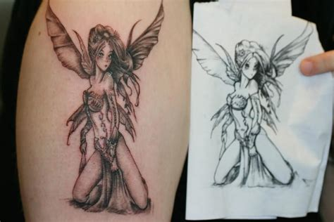 fairy wings tattoo designs wings on shoulder