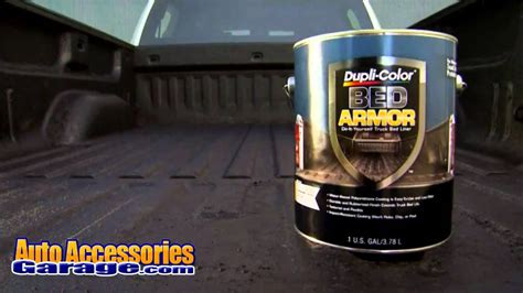 bed armor dupli color truck bed armor youtube