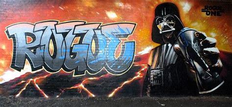 rogue  vader powered graffiti art graffiti art