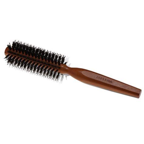 Hair Styling Brush Green wooden hair brush for styling the official missha
