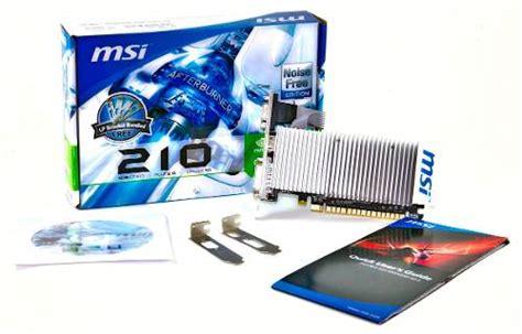 Gaming Vga Card Nvidia Geforce Gt210 1 Gb Ddr2 64 Bit Grsn 1 Thn 101588 vga msi n210 md1gd3h lp 1gb ddr3 systems