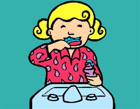 imagenes de niños lavandose los dientes imagenes de ni 241 as lavandose los dientes imagui