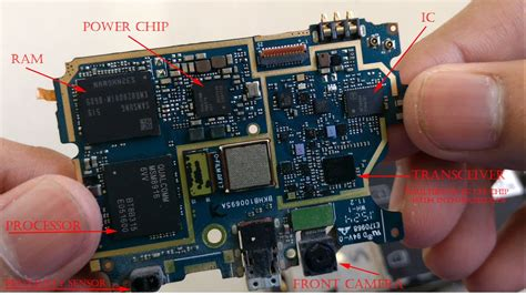 this is the interior of the inside part to the zoos i check what s inside a smartphone with all its components