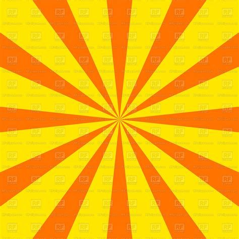 radial sunray background vector image  backgrounds