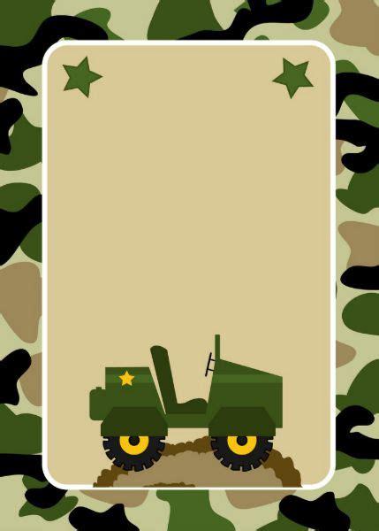 invitaciones militares de la fiesta de cumpleanos zazzlees cumple tomas en  fiesta