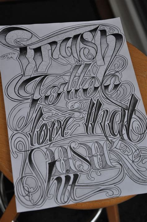chicano tattoo lettering design best 25 chicano lettering ideas on pinterest chicano