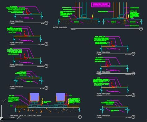 Threshold Detail   CAD Files, DWG files, Plans and Details