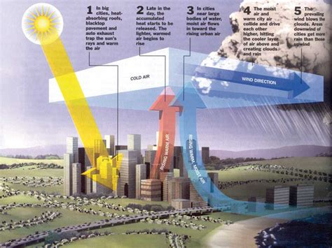 Circulation Patterns Architecture by Urban Development Megacities World Meteorological