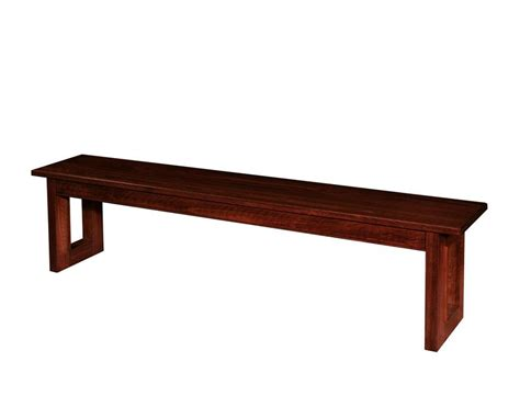 kalispel contemporary amish bench