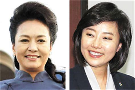 xi jinping kim soo hyun chinese 1st lady to accompany president to korea the