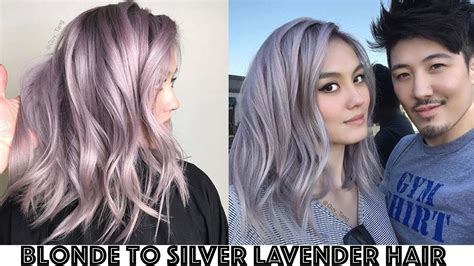 Harga Loreal Feria Ombre to silver lavender hair transformation