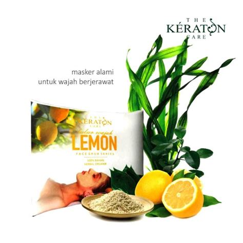 Masker Wajah Garnier Lemon masker wajah lemon keraton care pusat grosir herbal