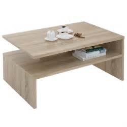 table basse adelaide mdf m 233 lamin 233 ch 234 ne sonoma achat