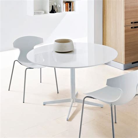 White Table by Jasper Dining Table White White Glass Dining Tables