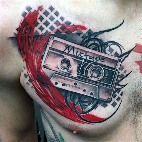 cassette tattoo designs best 25 trash ideas on trash polka