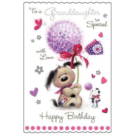 Granddaughter Birthday Cards Uk Jonny Javelin Fudge Granddaughter Birthday Card Dot2dot