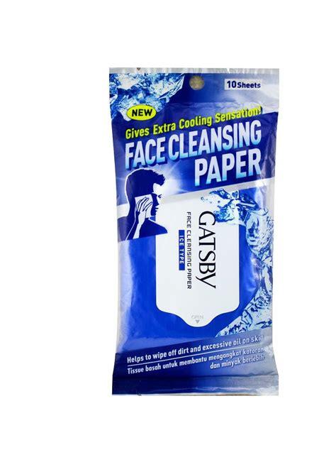 Pembersih Muka Gatsby gatsby cleansing paper 10 s pck klikindomaret