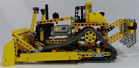 Lego Technic 42028 Bulldozer techlug fr review lego technic 42028 bulldozer