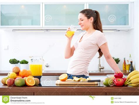 The Juice Kitchen by A Glass Of Orange Juice In The
