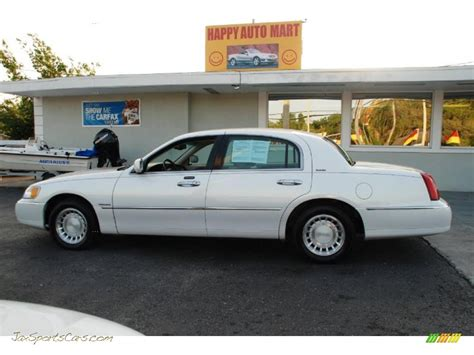 service manual how to break down 2002 lincoln town car
