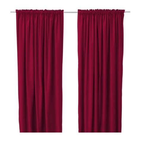 ikea red curtains red velvet curtains ikea