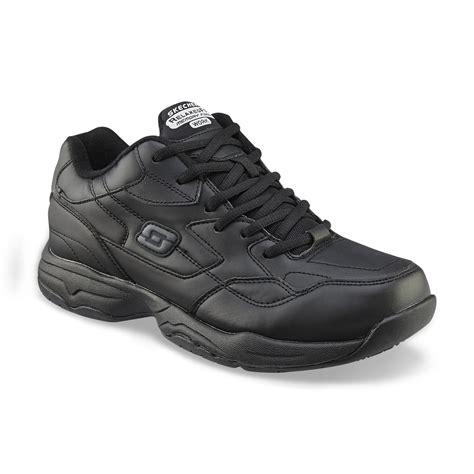 black work shoes skechers work s work relaxed fit felton altair slip