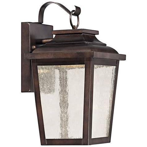 irvington manor 12 quot high bronze led outdoor wall light