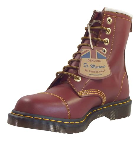 Dr Martens Made In dr martens unisex capper made in leather 8 eye