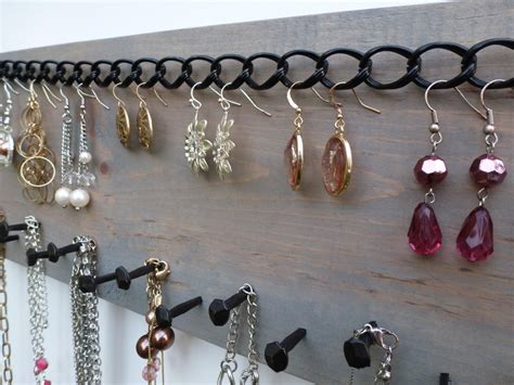 Murah Grosir Hanging Jewelry Organizer Accecories Display Hanging Tem free shipping jewelry organizer necklace holder earring