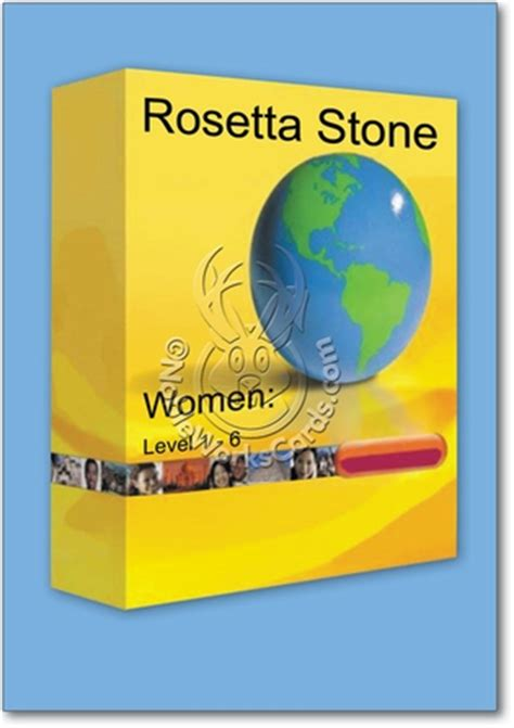 rosetta stone jokes rosetta stone funny father s day greeting card nobleworks