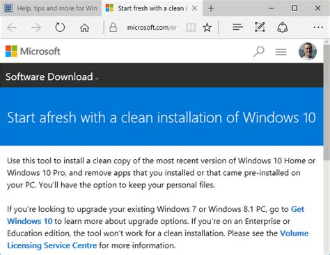 install windows 10 yourself how to perform a clean install of windows 10 to clear the junk