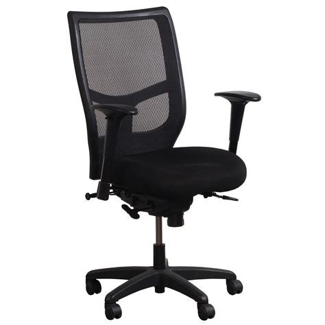 KI Impress Ultra Used Mesh Task Chair, Black   National