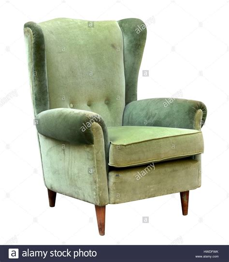 green upholstered armchair vintage upholstered green velvet armchair with a high wing