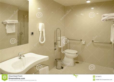 Shower Floor Plans bathroom at modern hospital room royalty free stock images
