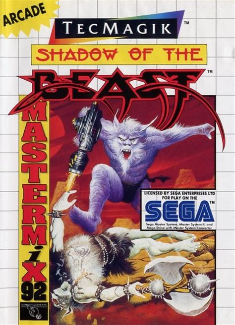 Diskon Ps4 Shadow Of The Beast Region 3 Asia shadow of the beast sega master system