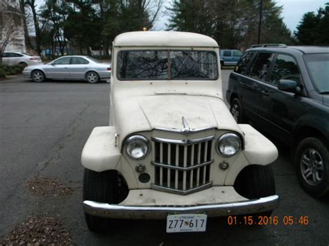 1950 Jeep Willys Wagon 1950 Willys Jeep Overland Wagon