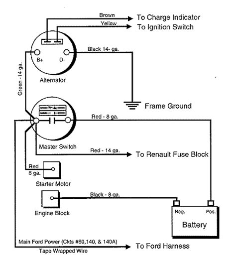 battery master switch wiring diagram 36 wiring diagram