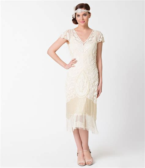 Lg Ivory Dress 2 1930s style wedding dresses shoes accessories