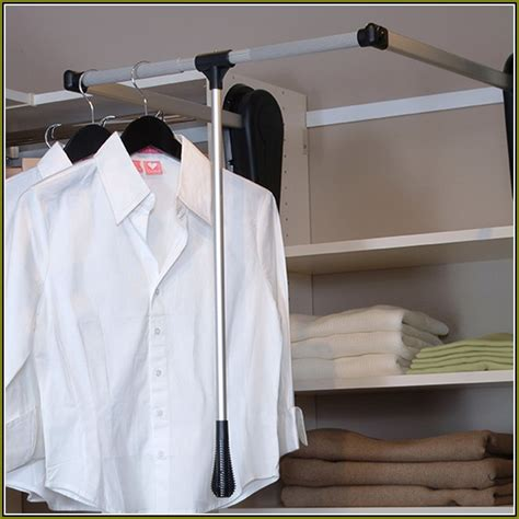Diy Pull Closet Rod diy pull closet rod home design ideas