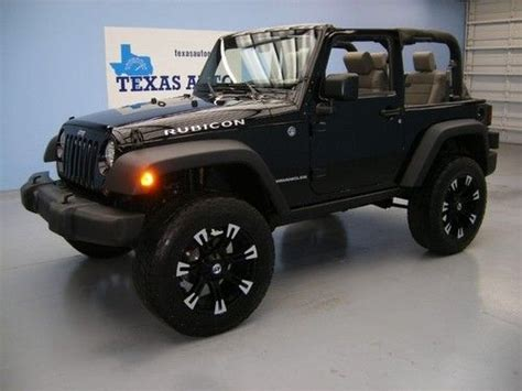 Best Jeep Wrangler Rims Find Used We Finance 2007 Jeep Wrangler Rubicon 4x4